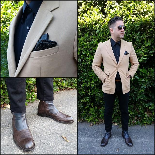 Man in Black    #modepopuli #moda #menwithstyle #menswear #mensfashion #mensclothing #mensootd #fashionpost #fashion #hm #hmtrend #GQ #gqstylehunt #gqstyle #gqego #zara #zarausa #pocketsquare #followme #losangeles #style #winter #maninblack