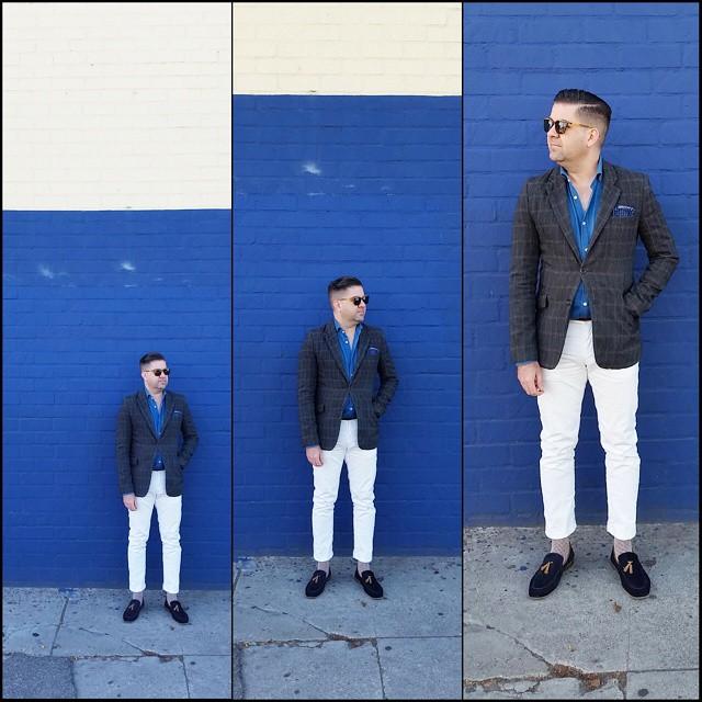 Step It Up    #modepopuli #moda #menwithstyle #menswear #mensfashion #mensclothing #mensootd #fashionpost #fashion #hm #hmtrend #GQ #gqstyle #gqstylehunt #gqego #uniqlo #uniqlousa #pocketsquare #clarkeandbarba #style #dapper #zara #zarausa #aldoshoes #stepitup