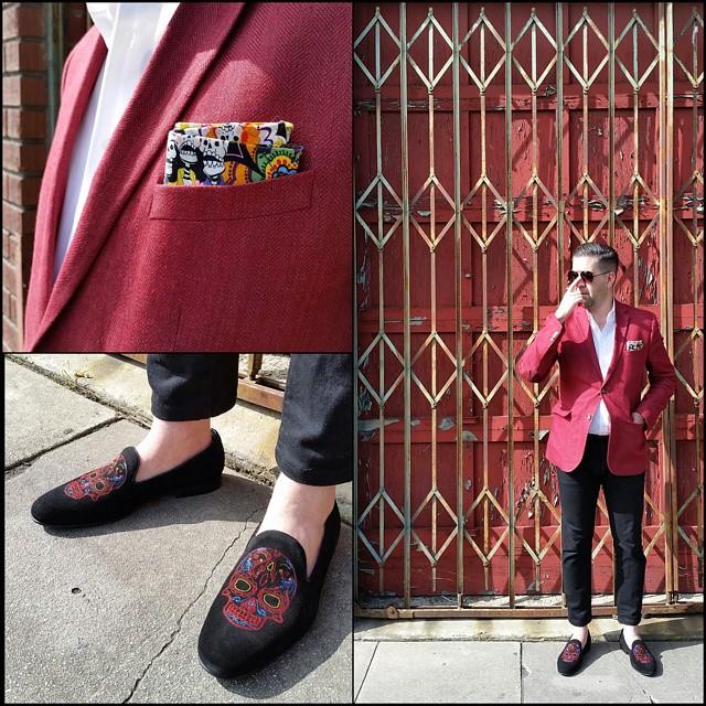 The Redcoats are Coming    #modepopuli #moda #menwithstyle #menswear #mensfashion #mensclothing #mensootd #fashionpost #fashion #hm #hmtrend #pocketsquare #clarkeandbarba #style #dapper #GQ #gqstylehunt #gqstyle #gqego #aldoshoes #theredcoatsarecoming