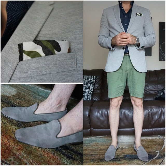 Go green    #modepopuli #moda #menwithstyle #menswear #mensfashion #mensclothing #mensootd #fashionpost #fashion #zara #hm #aldoshoes #summer #shorts #green #pocketsquare #camouflage