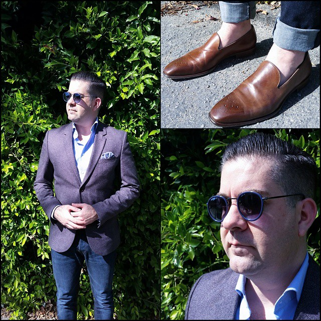 Shaded    #modepopuli #moda #menwithstyle #menswear #mensfashion #mensclothing #mensootd #fashionpost #fashion #hm #hmtrend #pocketsquare #clarkeandbarba #style #dapper #GQ #gqstylehunt #gqstyle #gqego #loafers #sunglasses #urbanoutfitters #shaded