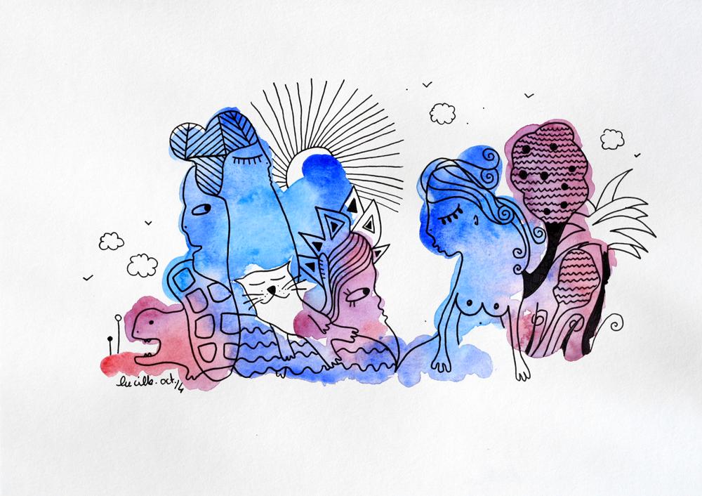 La Tortue le Chat Et La Sirène