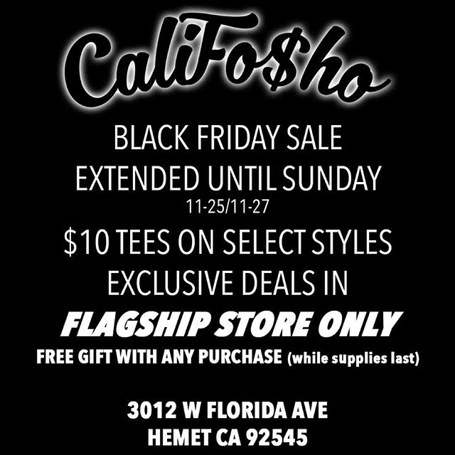 @califosho_clothing got those deal today stop by and check them out!!!