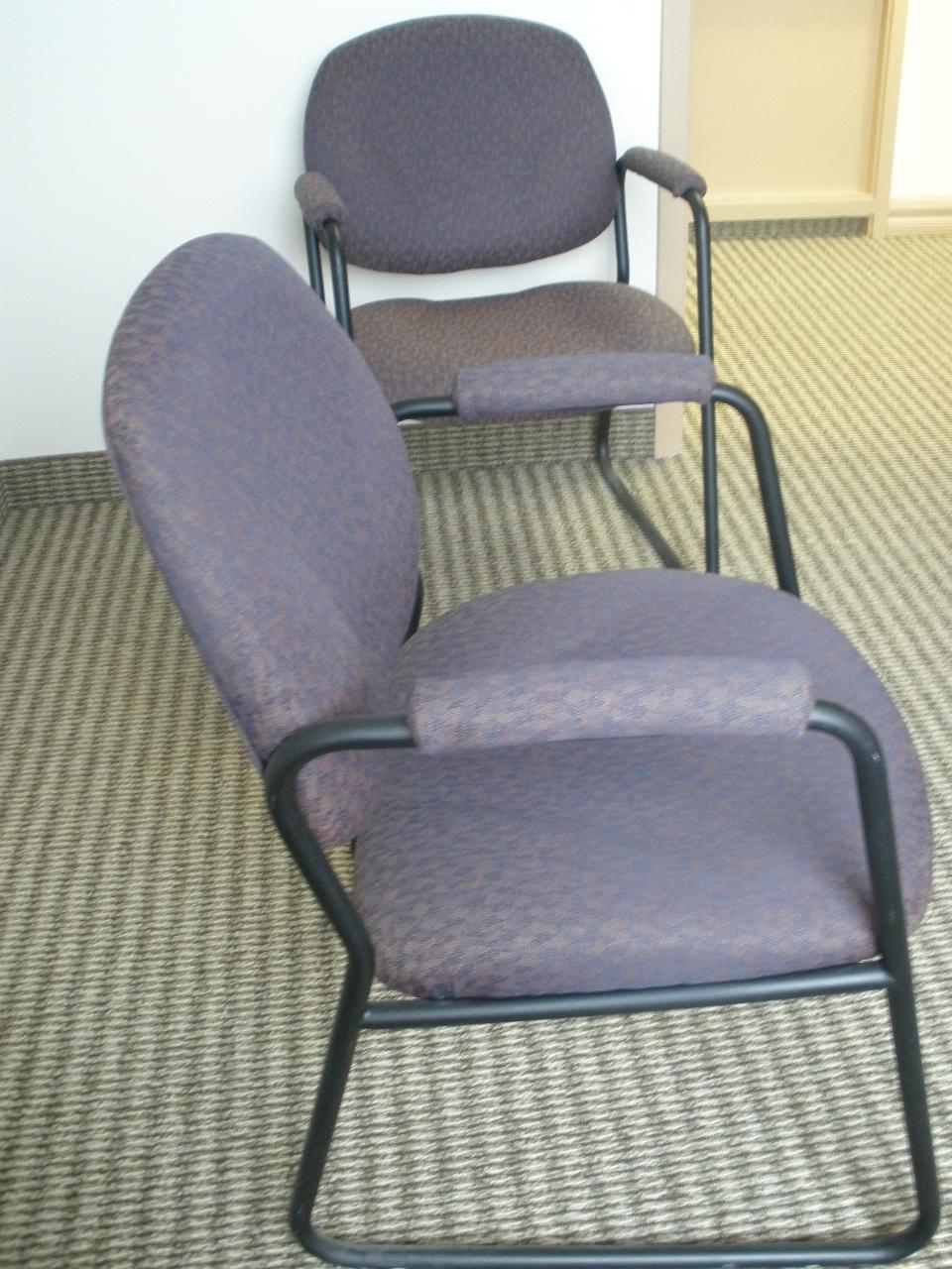 Rembourrage commercial, chaises d'une salle d'attente