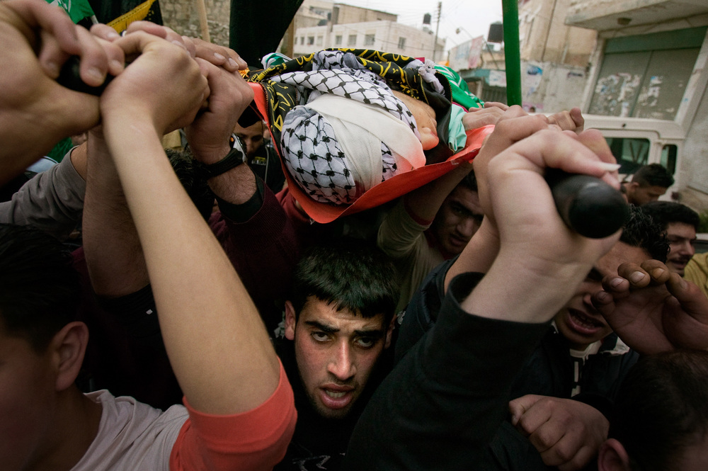 The West Bank: Teen Martyr's Funeral