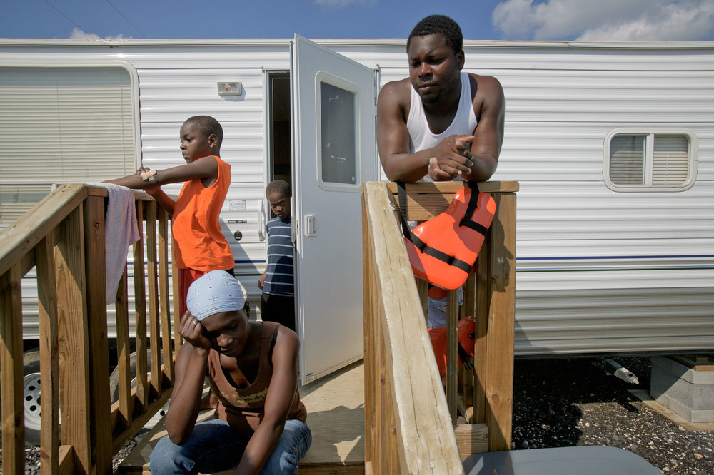 FEMA Camp Diamond: 1 Year After Hurricane Katrina