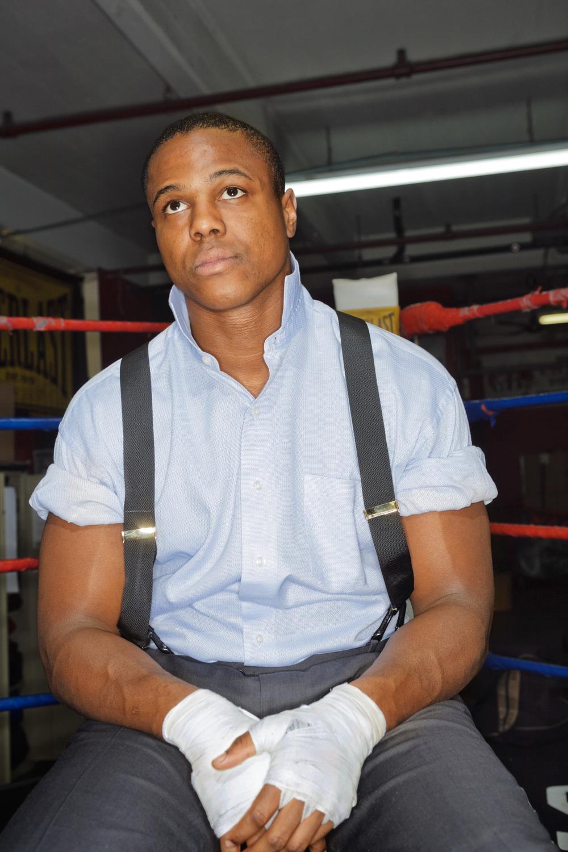 Tor Hamer, Boxer