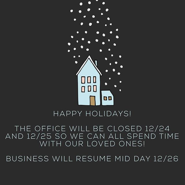 We are wishing all our clients, vendors, subcontractors, architects and of course, our extremely hard working crew the happiest of holidays. We will be closed on 12/24 and 12/25 and will reopen for business mid day 12/26. Time off with our friends and families is a nice way to refresh and reenergize. 🎄🎉🎁