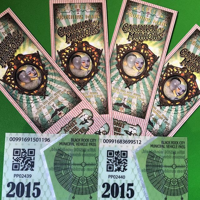 Got my tickets #burningman #playa