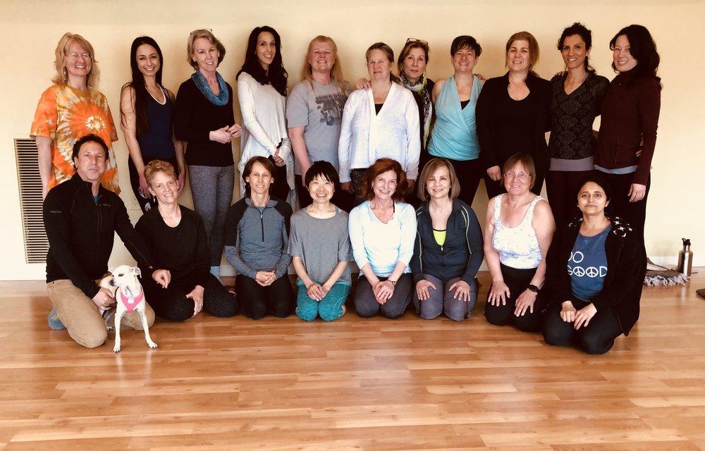 Yin Yoga Integration Teacher Training Class of 2018