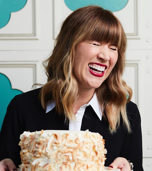 There's still room in @juliebethtanous' baking class! Join Julie as she shares some of the baking secrets she has up her sleeves and learn how she cuts down portions for dessert! There's even a light lunch served with wine! 😋🍷 Head to our link in profile to get your tickets for this Saturday! (Photo by @foodandwine )