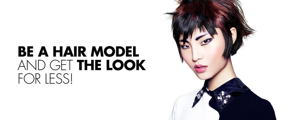 Toni&Guy Education - Hair Models
