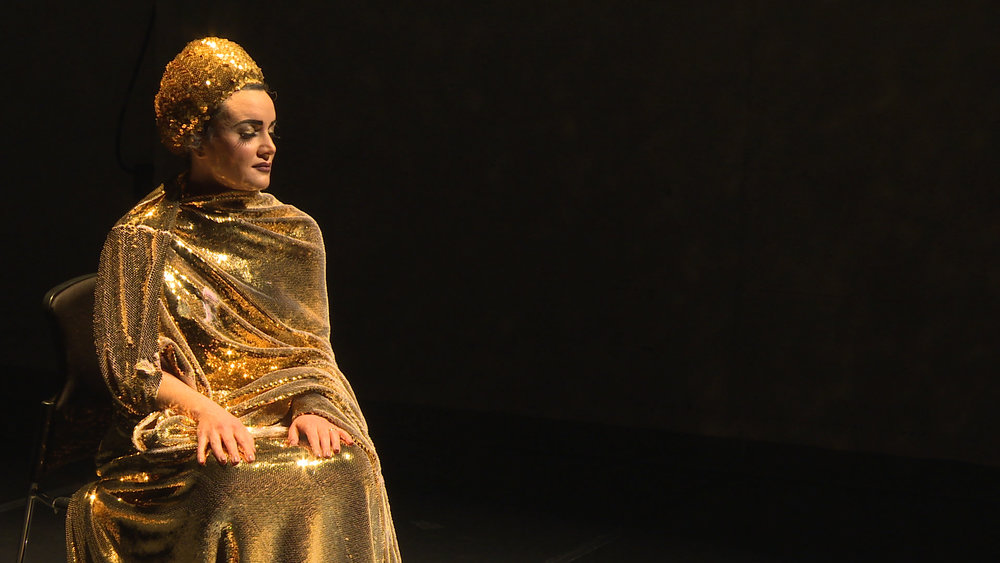 Maryam Rostami in the premiere of 1396