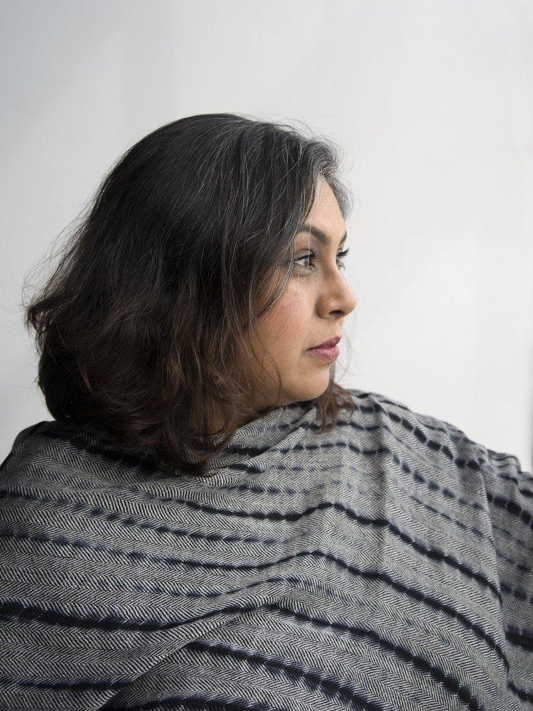Aruna D'Souza, Guest Speaker. Photo Dana Hoey