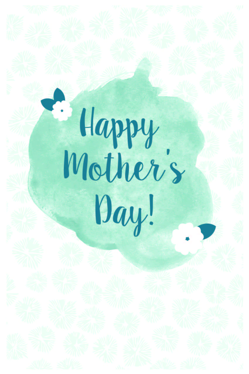 Free Download: Mothers Day Card -- Hue & Tone