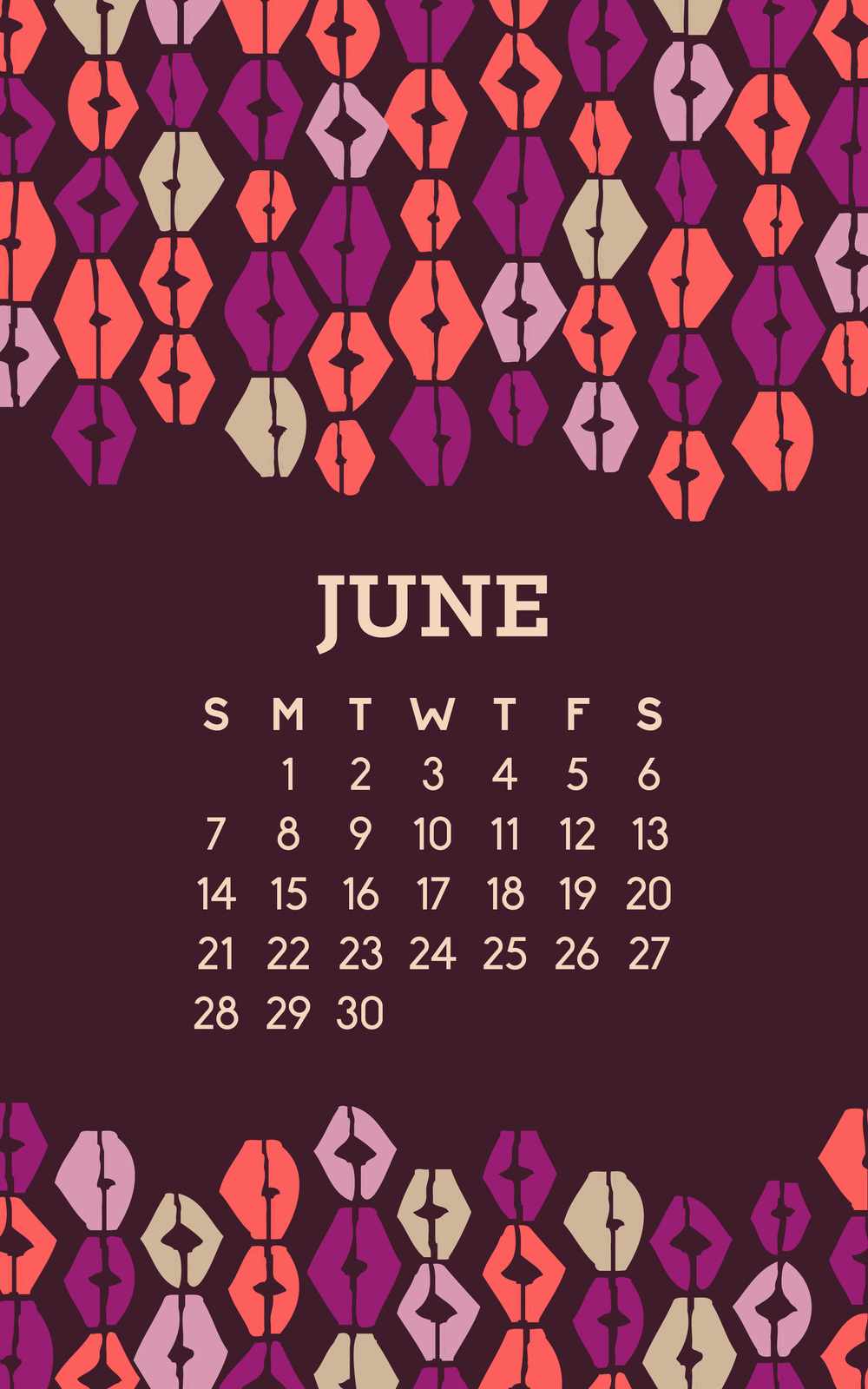 June Wallpaper -- Hue & Tone Creative