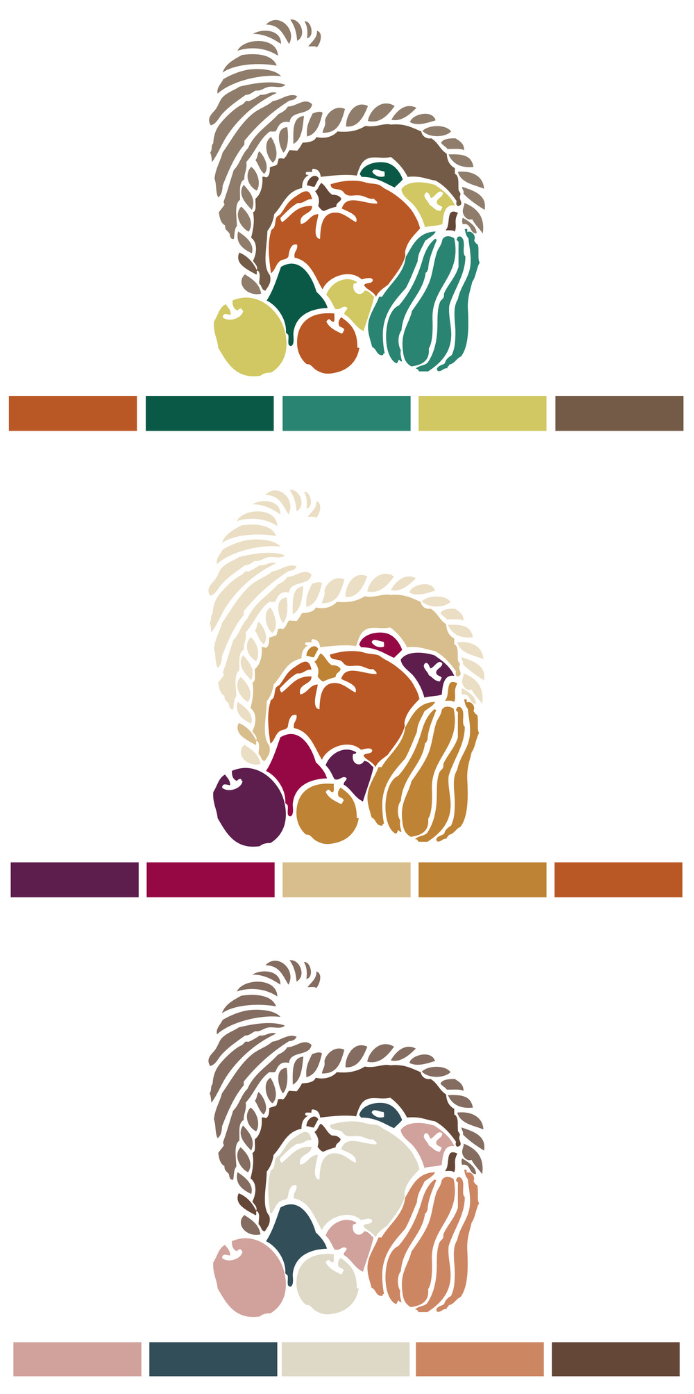 Hue & Tone Creative - fall/Thanksgiving color palettes