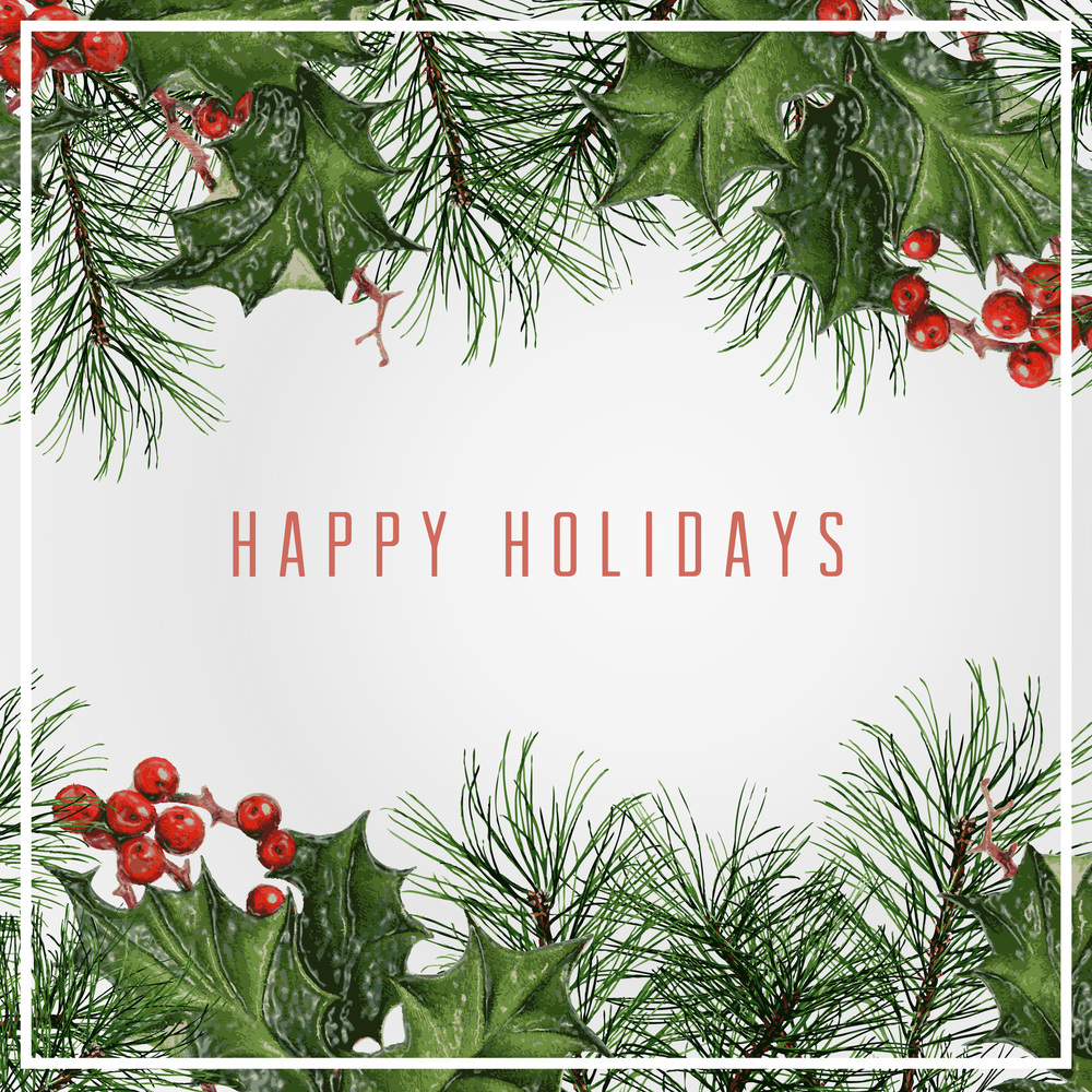 Happy Holidays -- Hue & Tone Creative