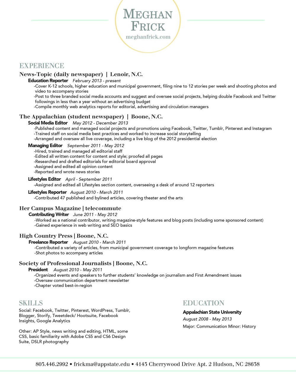 Colorful Telecommute Accounting Resume Sketch - Administrative ...