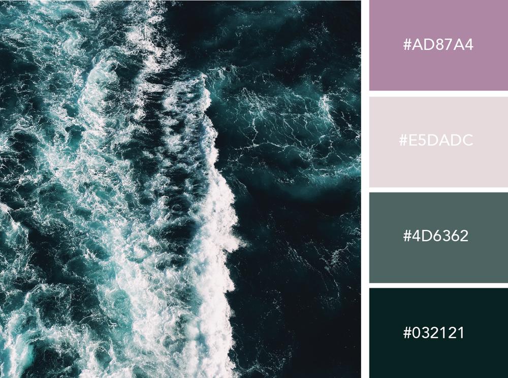 Pastel Sea  |  Hue & Tone Creative