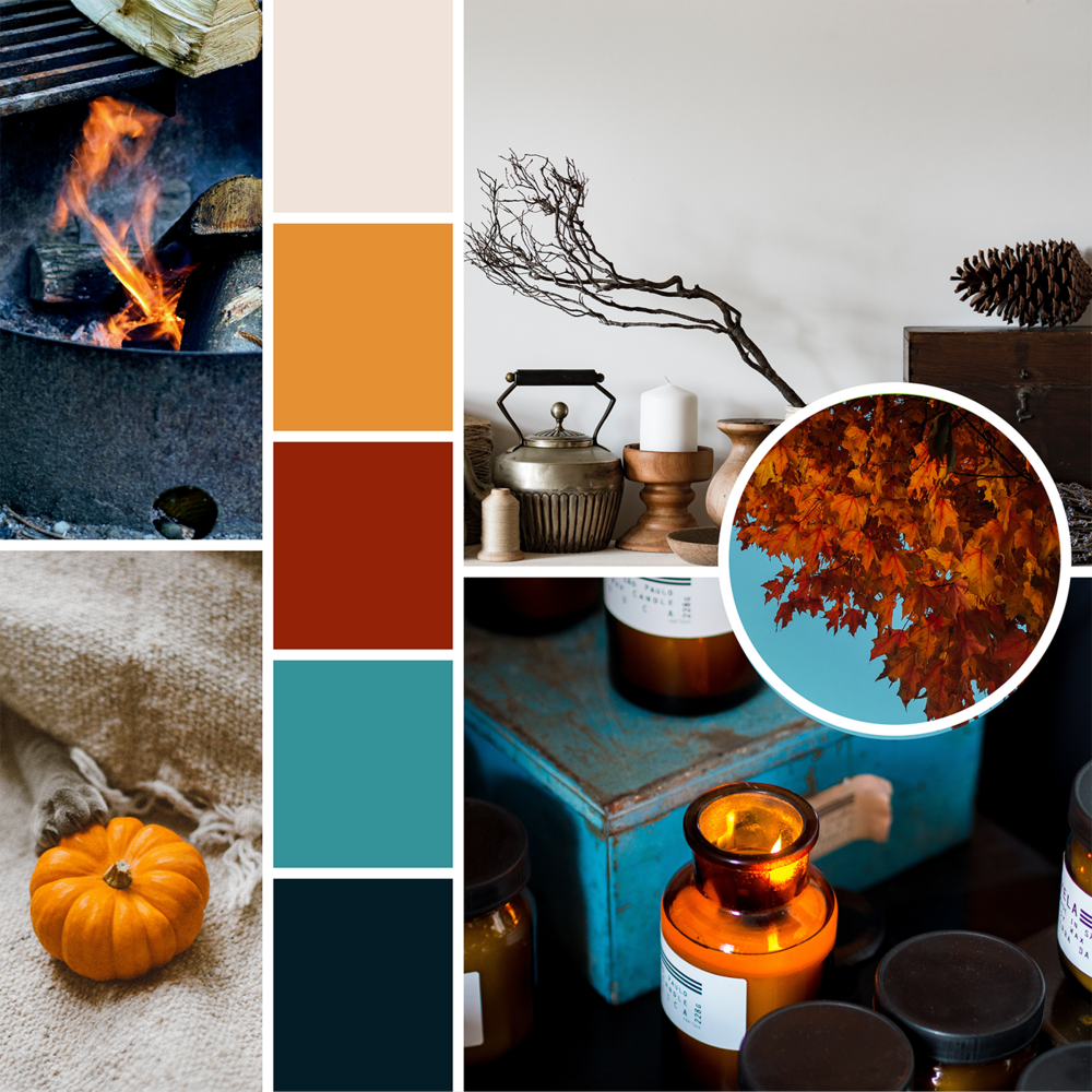 Mood Boards: Falling into Fall  |  Hue & Tone Creative