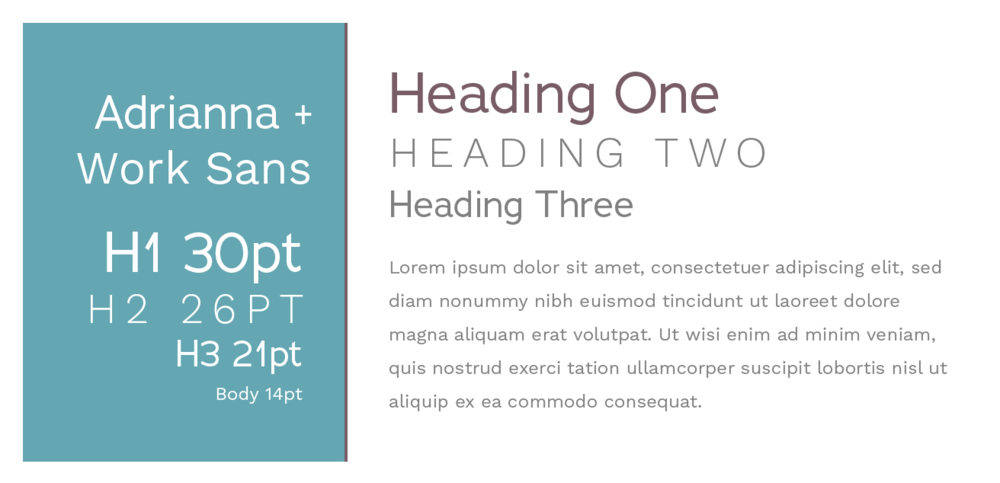 7 (more!) Squarespace font pairings  |  Hue & Tone Creative