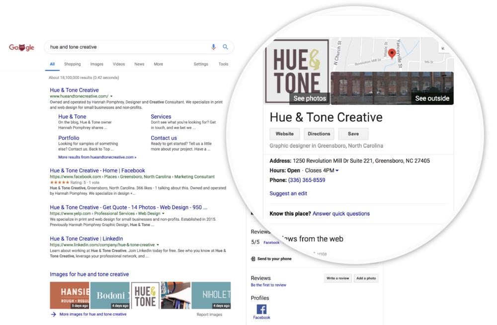 Back to basics: Google My Business | Hue & Tone Creative