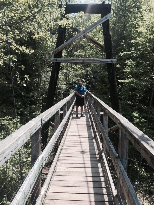 Tococca River Swinging Bridge