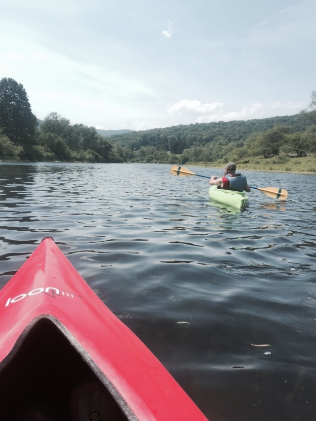Screw it, let's kayak!
