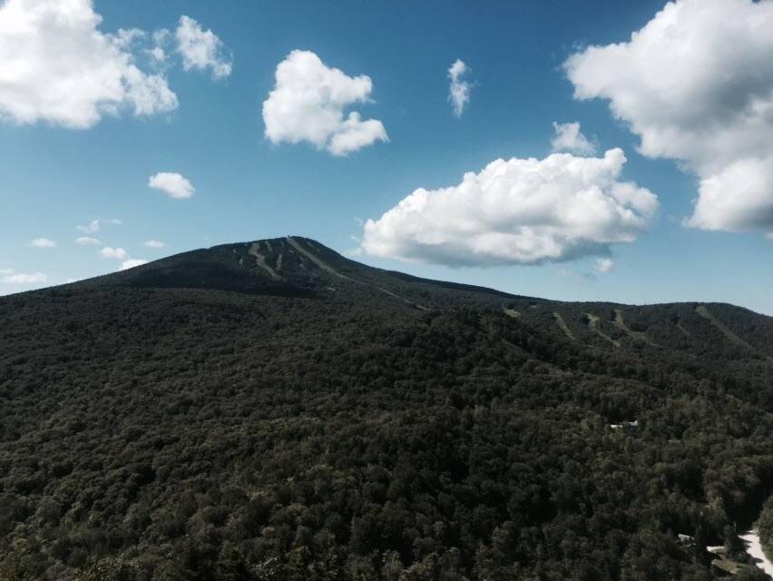 Killington from Deer Leap Overlook.
