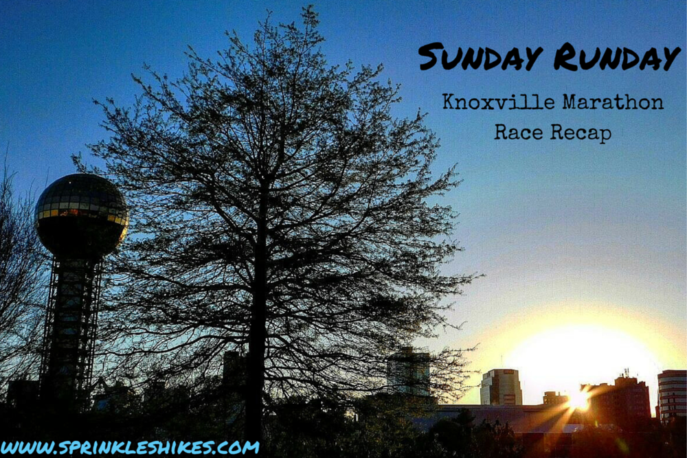 NoKey captured this beautiful Knoxville sunrise shot after the starting gun.  Follow him on Instagram here -  @NokeyRules