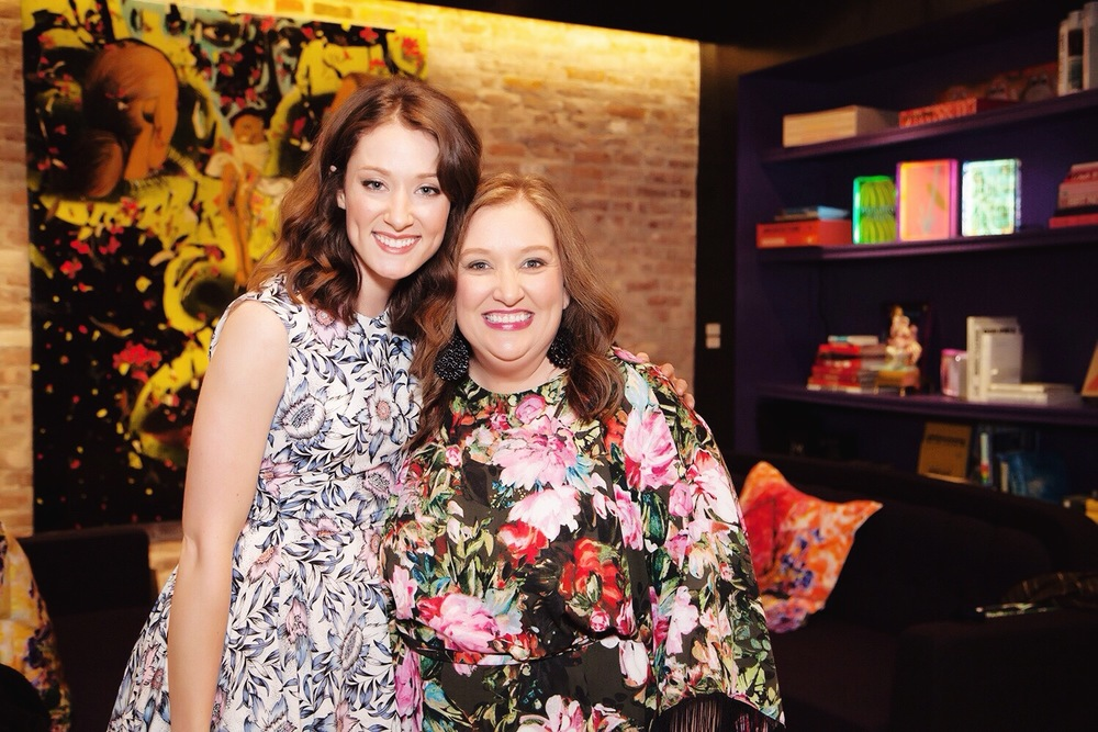 Julie Parker and I at the NYC Beautiful You event June 2015