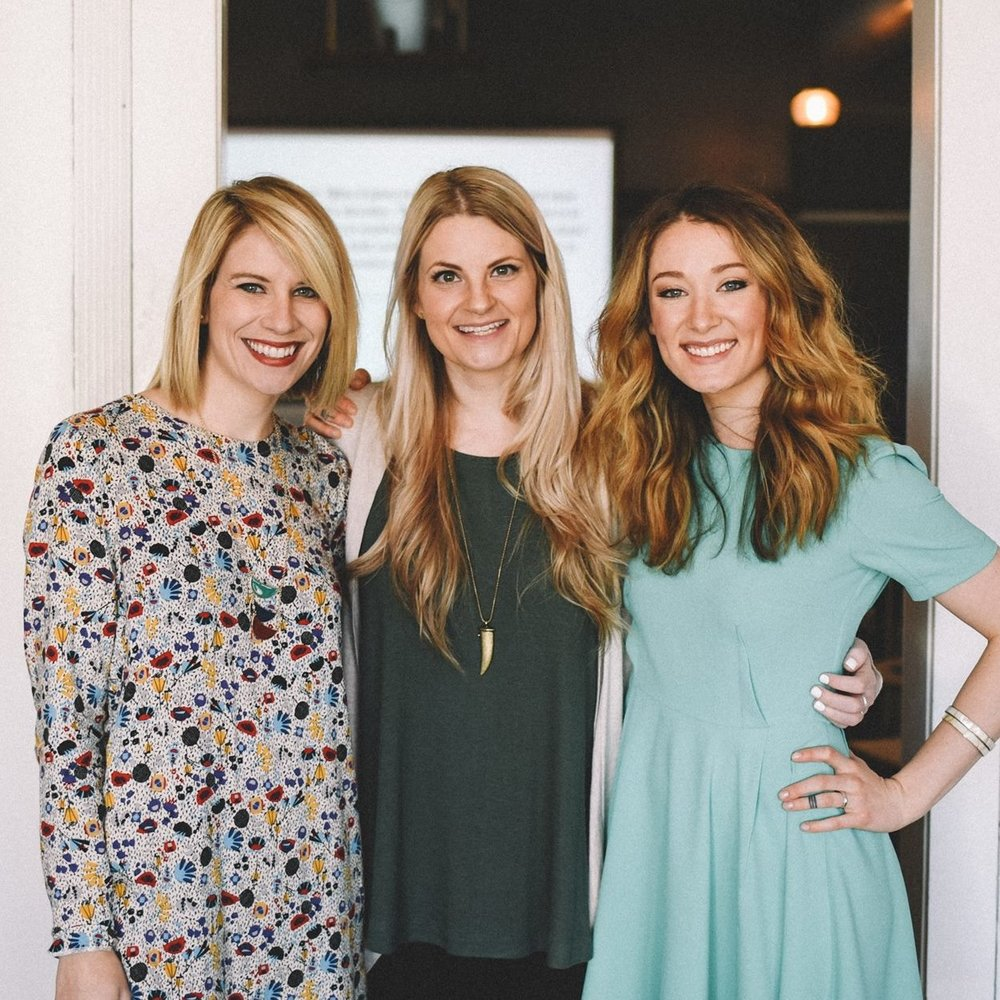 Two of my mentors, who also happen to be business partners, friends, and women who not only call me to be my best, but with whom there is mutual learning and honor. (image via The Bravery Board)