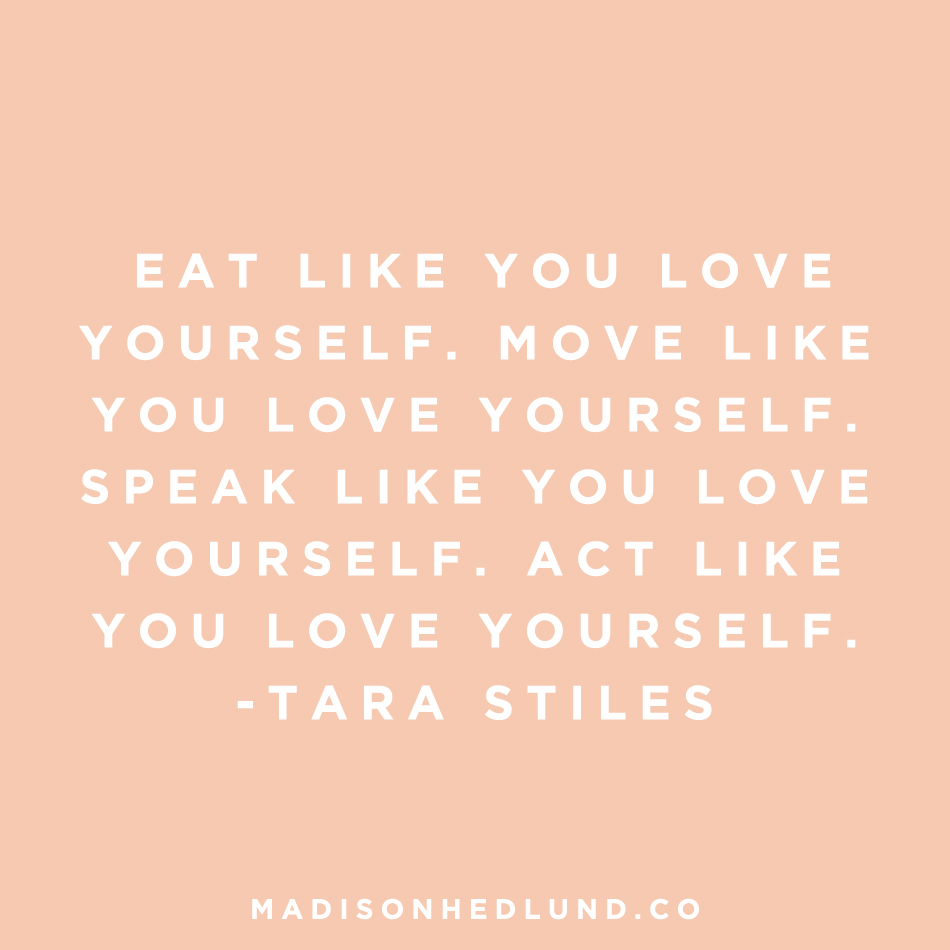 Practical Ways To Fall In Love With Yourself Madison Hedlund