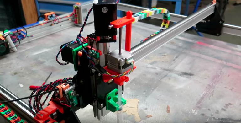 1.) THE MACHINE - A tool to print circuits onto fabric