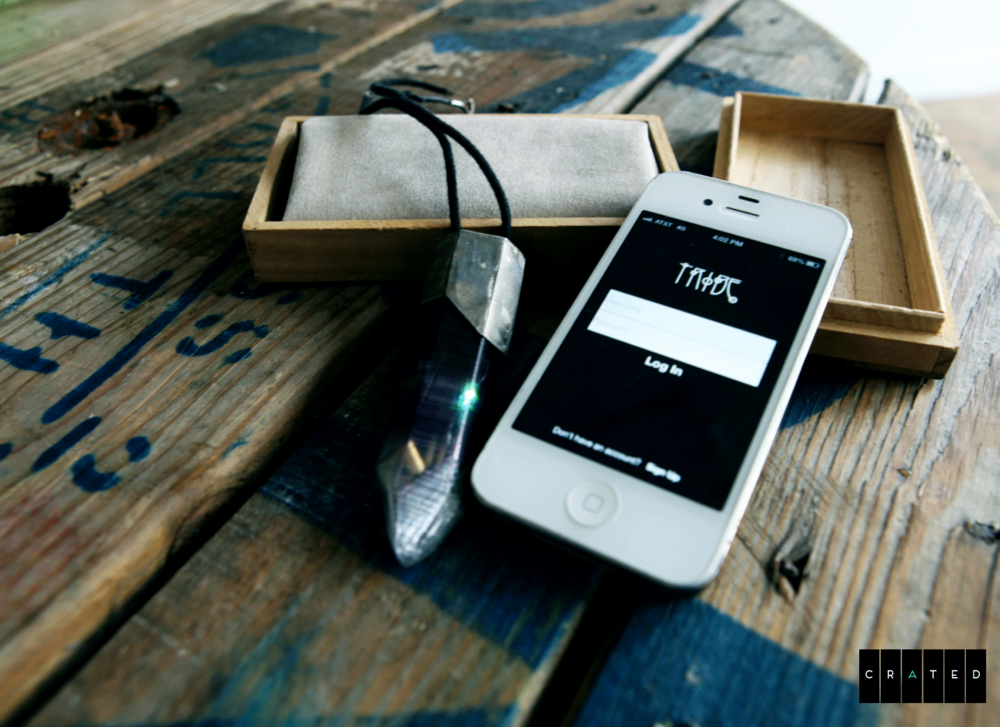 Tribe IPhone App and Responsive Pendant