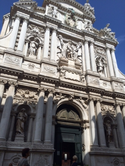 Chiesa di Santa Maria del Giglio.  Venice, Italy.  All rights reserved.  Shannon Whaley
