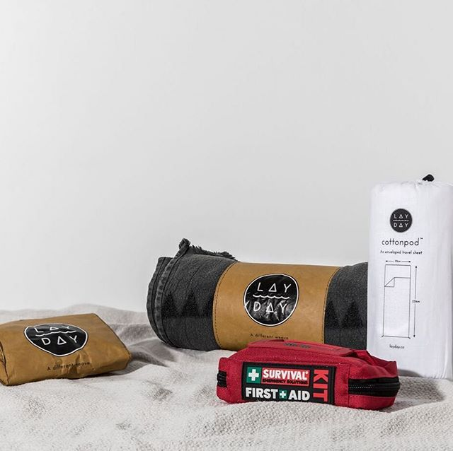 We have a select number of curated gift boxes and this is one of them: MR OUTDOORSY - whether he enjoys camping, backpacking, festivals, hiking, mountain biking, surfing trips...you name it, he have him covered for swimming, bathing, sleeping and safety