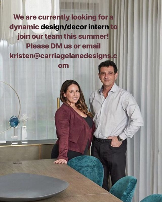 Hey there design community! Our team is looking to hire a summer intern with design or decoration experience!  Please DM us or email us at kristen@carriagelanedesigns.com 🖤🖤🖤🖤🖤🖤🖤🖤🖤🖤🖤🖤 #intern  #designintern #toronto #mississauaga #summerstudent #summerintern #work #interiordesign #decoration #sheridancollege #ryseronuniversity #humbercollege