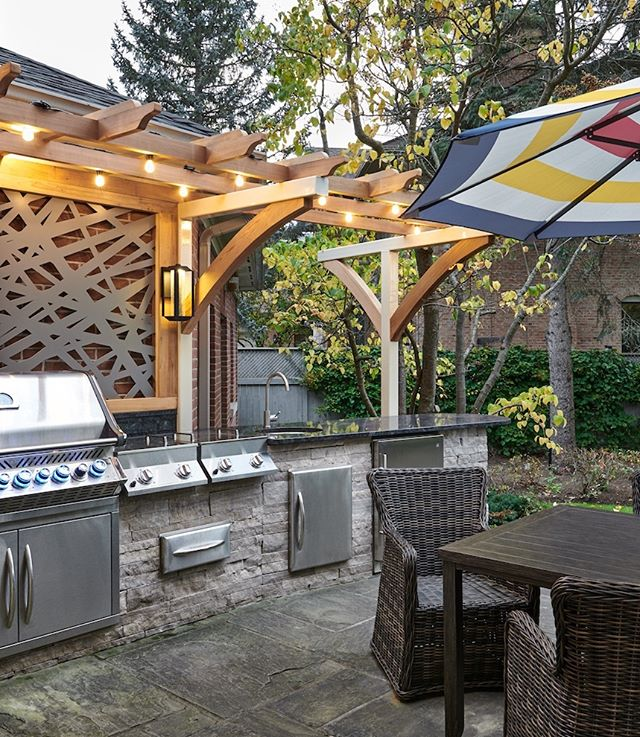 BBQ season is upon us - are you ready for it? This patio design and installation is fully equipped with all the gadgets and gizmos any chef would need. . . . . #carriagelanedesigns #interiordecor #interiores #interiorstyling #interiorstyle #actualinstagramhomes #housebeautiful  #myinteriorstyletoday #interior_and_living #instahome #instadesign #homestyling #instainterior #interiorforinspo #myhouse  #interiorinspo #interior4inspo #dream_interiors #charminghomes #interior_delux #bloglovinhome #simplystyleyourspace #howyouhome #styleithappy