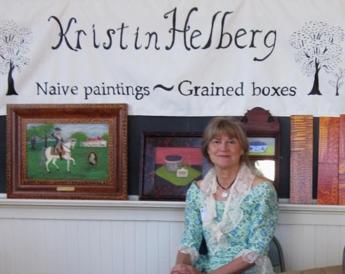 Kristin Helberg/vinegar grained boxes