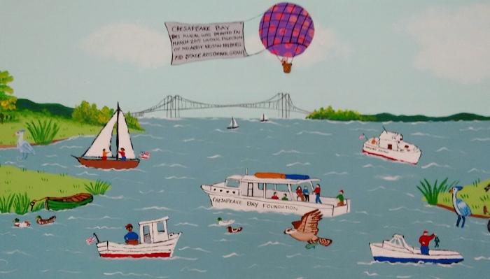 Boating on the Chesapeake
