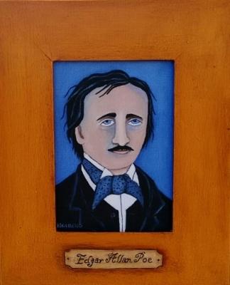 Edgar Allan Poe c Kristin Helberg 2017