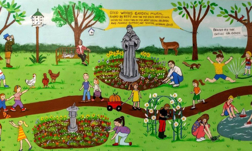 Resurrection St. Paul school mural