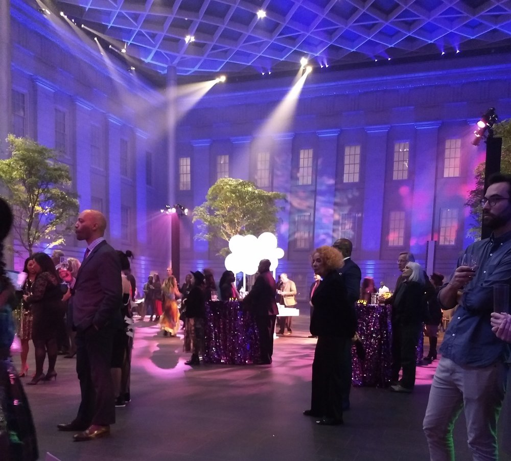 National Portrait Gallery reception