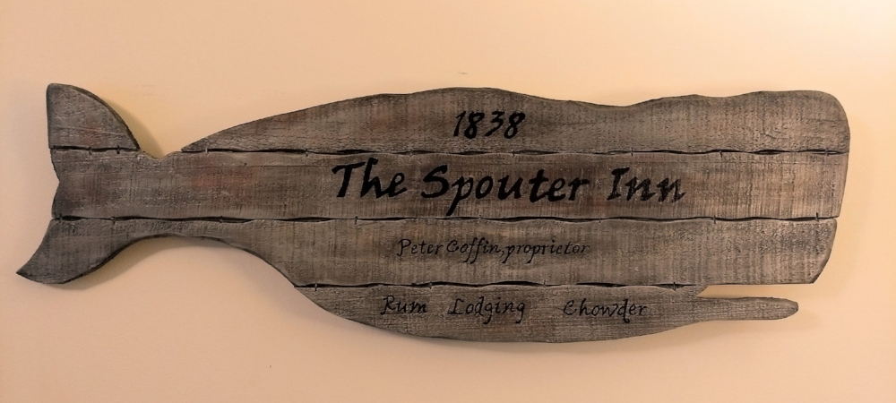 The Spouter Inn tavern sign c Kristin Helberg 2018