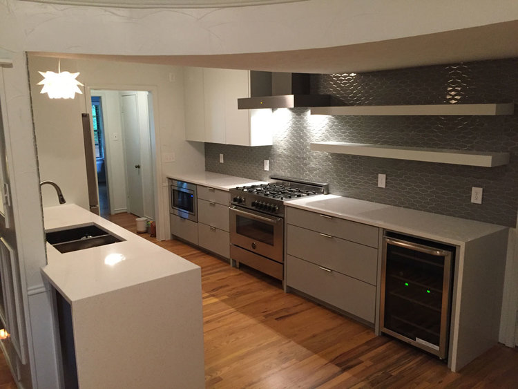 Dallas Kitchen Remodeling Model small kitchen remodel - dallas, tx — precision construction