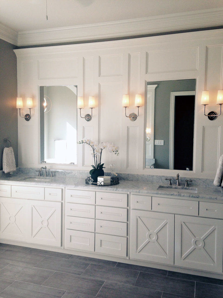 Master Bathroom Renovation Parker TX Precision Construction - Bathroom renovation dallas