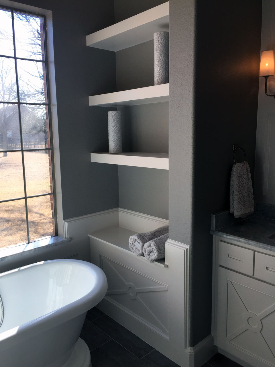 Master Bathroom Renovation Parker TX Precision Construction - Bathroom remodel parker co