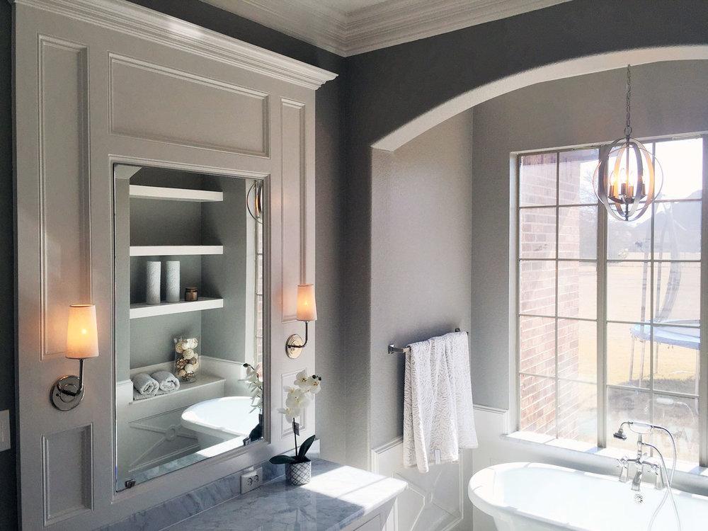 Dallas Remodeling Portfolio Precision Construction Remodel - Bathroom remodel carrollton tx